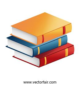 stack book literature learning study