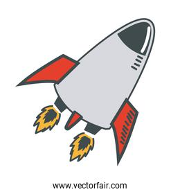 rocket launch startup business innovation image
