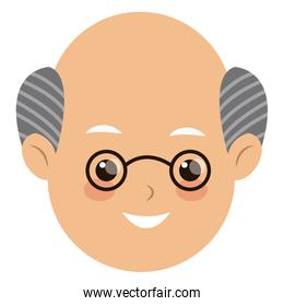 head face man father people image