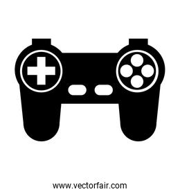 game controller or joystick console keypad icon