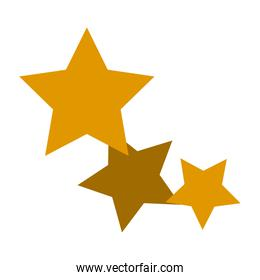 gold stars icon favorite business, internet trendy concept.