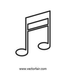 note music melody sound icon