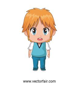 cute little boy anime facial expression image