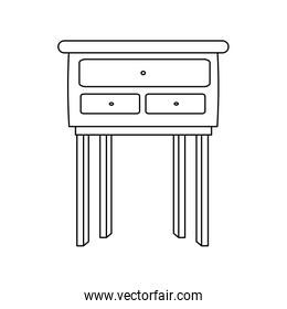 wooden table furniture cabinet image