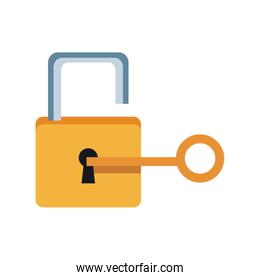 lock and key sign unlocking access password security