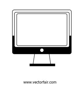 outline screen computer mnitor technology