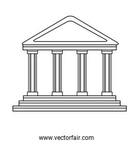 bank building in the style of a classical