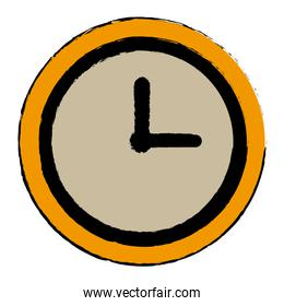clock world time concept business daily icon