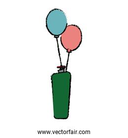 helium filled balloons carnival decoration
