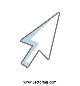 arrow direction cursor selection technology icon
