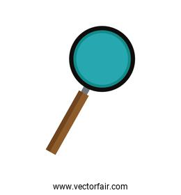 magnifier find zoom discovery research icon