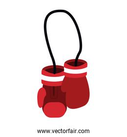 hanging boxing gloves sport accessories protection