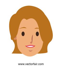 woman face employee worker person character