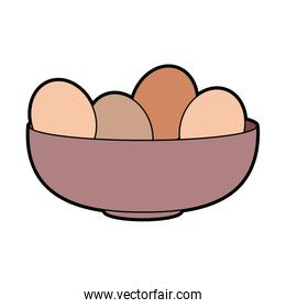 eggs bowl cooking food bakery