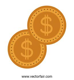 gold coins dollar money currency cash