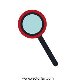 magnifier glass business handle icon