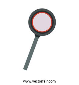 magnifying glass loupe and handle search tool