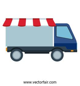 commercial vehicle delivery truck automobile