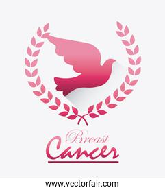 Breast cancer design.