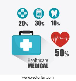 Medical healtcare design.