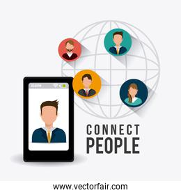 Connect people design.