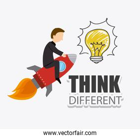 Think different design.