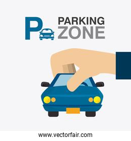 Parking zone graphic