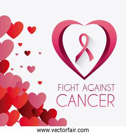 Against breast cancer campaign