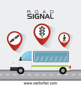 Transport, traffic and vehicles design