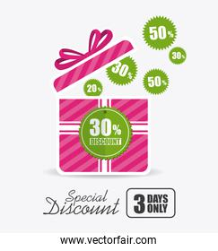 Shopping special offers, discounts and promotions