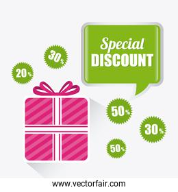 Shopping special offer and disocunts