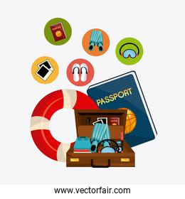 Summer, vacations and travel