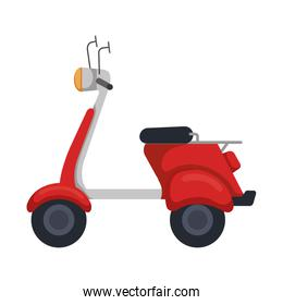 scooter bike isolated icon