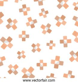cure band pattern background