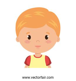 cute and little boy character