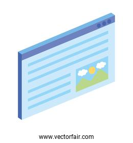 template with picture file