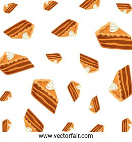 delicious apple pie portions pattern
