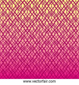 color and rhombus lines pattern