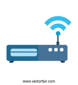 router with wifi signal