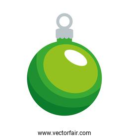 merry christmas ball decorative icon