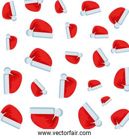merry christmas hats pattern