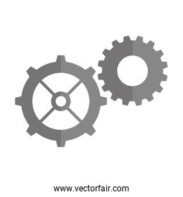 gear machinery isolated icon