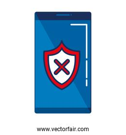 smartphone with shield security
