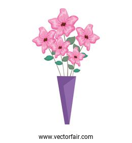 bouquet of flowers icon