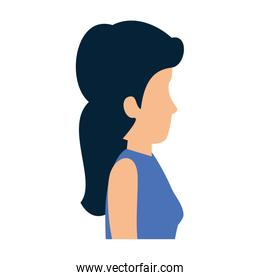 elegant businesswoman avatar character