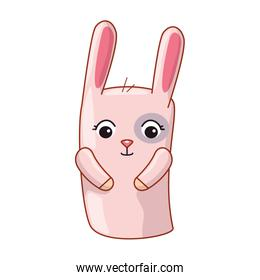 cute and little rabbit