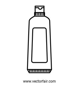 tooth paste isolated icon