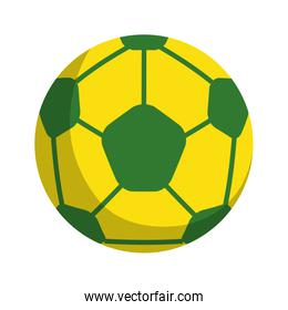 soccer ball isolated icon