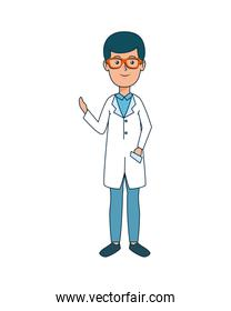 young dentist avatar character