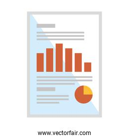 document paper with statistics